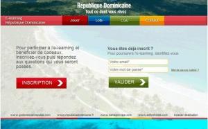La République Dominicaine lance son e-learning