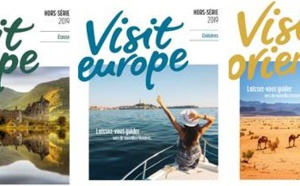 Visit Europe sort 3 mini-brochures