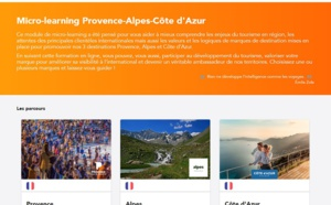 PACA : le CRT lance un micro-learning pour les pros du tourisme...