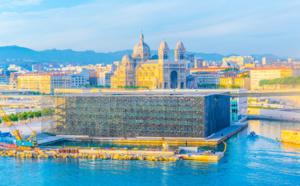 """""""Cruising Marseille Provence"""" : le MUCEM embarque sur le mag des passagers en escale"""