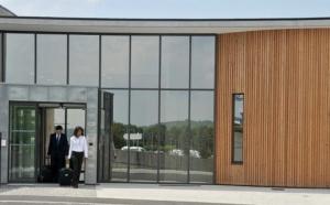 Aviation d'affaires : l'aérogare Tarbes Lourdes Pyrénées inaugurée
