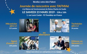 L'AFMAé - CFA des Métiers de l'Aérien organise une journée de rencontre et d'information