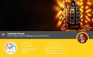Maroc : DMCMag.com accueille Plénitude Voyages