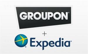 Groupon a lancé ses cinq premières offres en partenariat avec Expedia