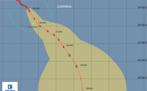 Cyclone Joaninha : l'Île de Rodrigues placée en alerte maximale