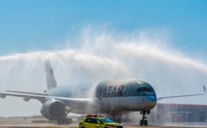 Qatar Airways : l'A350-900 atterrit à Nice