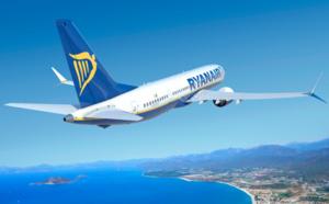 Ryanair : 10,9 millions de passagers transportés en mars 2019