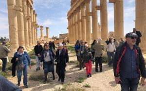 """Odeia : """"Nous sommes le premier voyagiste au monde à revenir à Palmyre"""""""