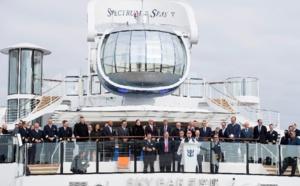 """Royal Caribbean Int. : le Spectrum of the Seas crée une zone pour les clients """"suite"""""""