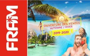 FRAM ouvre les ventes pour l'hiver 2019 - 2020