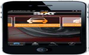 Location de voiture : Sixt améliore son application iPhone
