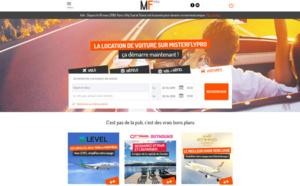 MisterFly ajoute la location de voiture sur le site Pro
