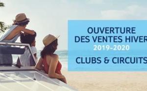 Hiver 2019-2020 : TUI ouvre les ventes Clubs et Circuits