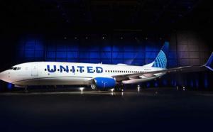 Exit le doré, United Airlines dévoile une nouvelle livrée toute en bleu