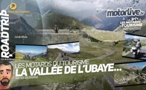 Les Motards du Tourisme dans la vallée de l'Ubaye !