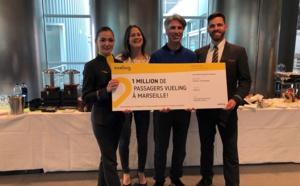 Vueling Airlines fête son millionième passager !
