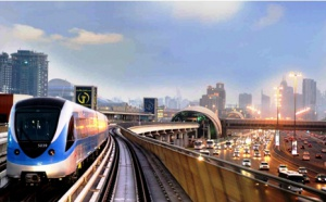 Dubaï inaugure sa 2e ligne de métro