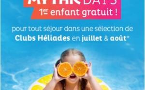Séjour club : Héliades lance une offre 1er enfant gratuit
