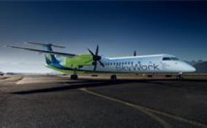 SkyWork Airlines atterrira à Nice en 2012