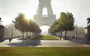 JO 2024 : 54 hectares piétonnisés et végétalisés autour de la Tour Eiffel
