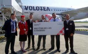 Volotea fête ses 4 ans à Strasbourg et annonce de nouvelles lignes