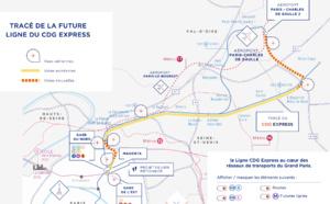 Le CDG Express ne se fera pas avant … fin 2025 !