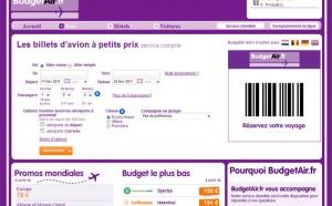 BudgetAir.fr veut grimper dans le Top 3 des agences en ligne françaises