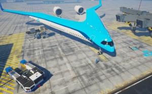 Flying V-900 : l'avion moins polluant sera-t-il Hollandais ? (Vidéo)