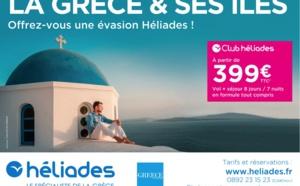 Grèce : Héliades part en campagne