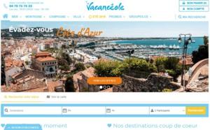 Vacancéole lance un nouveau site web