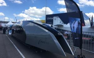 Salon du Bourget : le prototype Spacetrain présenté sur le tarmac