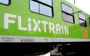 Ouverture à la concurrence : la compagnie allemande FlixTrain dépose 5 projets