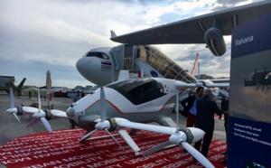 Salon du Bourget : Airbus présente Vahana, son taxi-volant (vidéo)