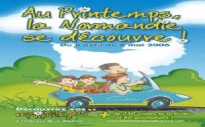 CRT Normandie : ''Au printemps, la Normandie se découvre ! ''
