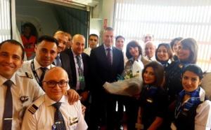 Egyptair : un nouveau Dreamliner B787-9 entre dans la flotte