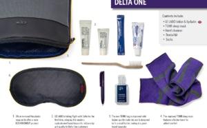 Delta lance de nouvelles trousses de voyage