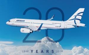 AEGEAN : 20 ans déjà dont 10 années de présence en France !