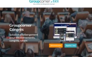 """Groupcorner lance """"Congrès"""" pour faciliter les réservations d'hébergements lors des salons"""
