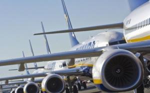 Ryanair : un trafic en hausse de 13% en juin 2019