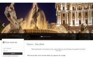 """Voyages Internationaux : Decoov Italie lance un site B2B """"à la carte"""""""