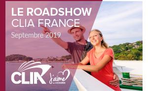 """CLIA : """"J'aime la croisière !"""" sur le pont du 1er au 10 octobre 2019"""