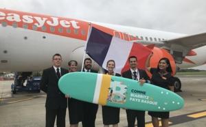 Aéroport Biarritz : le vol inaugural depuis Bristol a posé son train d'atterrissage