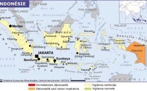 Indonésie : une partie du territoire en vigilance en raison d'une tempête tropicale
