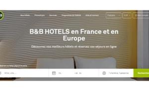 B&B Hôtels fait le pari d'un seul site internet pour couvrir 3 pays