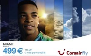 Corsairfly : campagne publicitaire et promos en janvier 2012