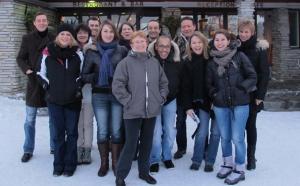 La Laponie : la blancheur de la neige, sa forêt, son froid, ses grands espaces... »