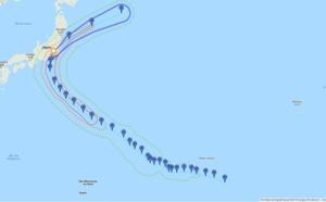 Japon : un puissant typhon a touché la région de Tokyo