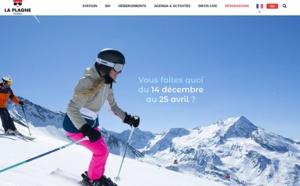 La Plagne : le site de l'office de tourisme s'est transformé en OTA