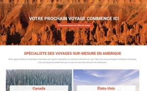 Bleu Voyages : Destination Amériques se dote de sa propre identité visuelle