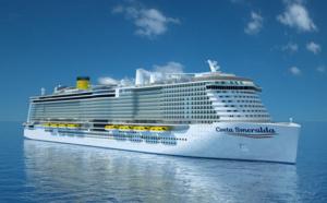 Retard de construction : CostaCroisières modifie le programme inaugural du Costa Smeralda
